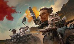 ArtStation - Fury Road, Vladimir Krisetskiy