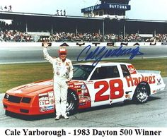 cale yarborough 1983 daytona 500 winner