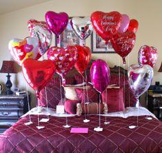Deko Idee Valentinstag Botschaft schreiben | - | Pinterest ...