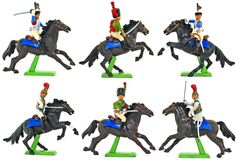 Set 7959 Britains Deetail Napoleonic French Cavalry