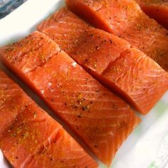 Paleo Curry Rubbed Salmon - Plan to Eat - Plan to Eat