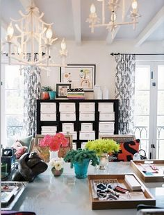 Aerin Lauders Office Inspirations