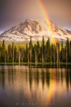 Mount Adams, Washington; photo by Bryan Swan on 500px