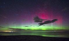 Northern lights visit southern UK