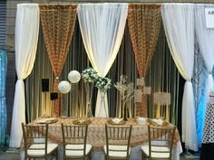 Alternating drape, two p&d systems