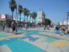 Venice beach, California----one of the most interesting and creative places…..