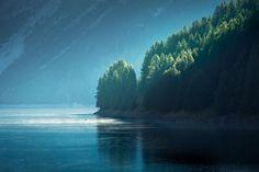 Lago di Livigno, Lombardy | Italy (by Johannes Heuckeroth)