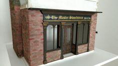 My Miniature World: More Work on The Master Swordsman Pub & Inn