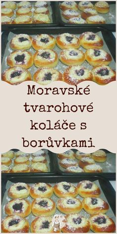 Tart, Czech Recipes, Dessert, Yummy Treats, French Toast, Muffin, Cooking Recipes, Sweets, Baking