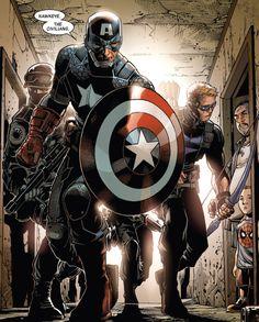 Captain America by Jim Cheung [CMX:Avengers]