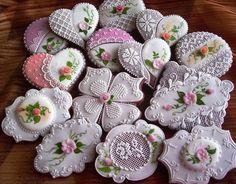 Страница 3 из 10 - Примеры тортов и пряников, украшенных айсингом, схемы - отправлено в Торты и пирожные: