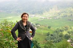 Our founder and director at the impressive Muong Hoa Valley of Sapa #socent #vietnam