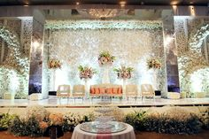 New Ideas Wedding Backdrop Indian Gold Desi Wedding Decor, Church Wedding Decorations, Marriage Decoration, Wedding Mandap, Backdrop Decorations, Ballroom Wedding, Wedding Stage, Backdrops, Gold Wedding Colors