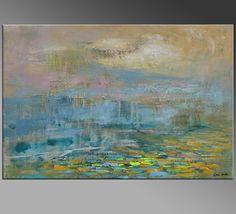 Pintura de la lona pintura al óleo de grandes por Topfineart