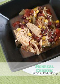 Montreal Chicken Crock Pot Soup