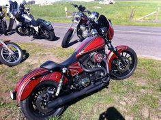 Harley wheelies