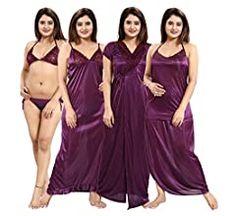 Girls Night Dress, Night Gown, Satin Dresses, Prom Dresses, Gowns, Lingerie Set, Women Lingerie, Pori Moni, Indian Women Painting