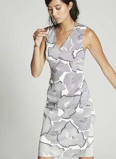 Mara Print Shift Dress