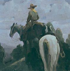 """""""The Rendezvous"""" – art by William Herbert Dunton (1878 - 1936)"""