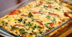 Make Your Morning Healthy and Delicious With This Yummy Breakfast Bake