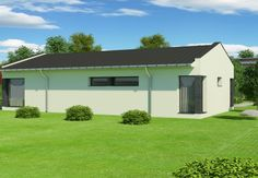 Proiect Casa Economica BC-107-120m2 Shed, Outdoor Structures, Live, Houses, Barns, Sheds
