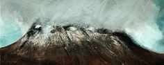 Simon Rivett 'Stac Poly emerges from the Rain' www.artfortwilliam.co.uk