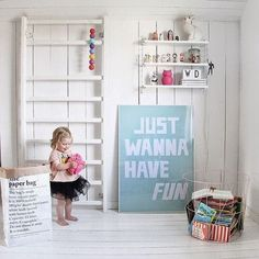 Reading Nook in the Playroom. #Playroom
