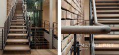 Treppen mit Kastenstufen | MetallArt Metallbau Schmid GmbH