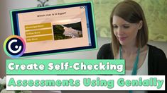 Did you know you can create interactive, self-checking assessments with Genially? In this Genially tutorial for teachers, I'll show you how to create fun assessments for students! #vestals21stcenturyclassroom #genially #geniallytutorial #geniallytutorialforteachers #geniallyideas #virtuallearning #onlinelearning #selfcheckingassessments
