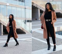 Konstantina A. - The all black outfit