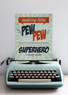 Making Little Pew Pew Noises Instantly Makes You a Superhero