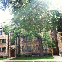 Leonard Hall, where I lived for two happy academic years. #Kenyon