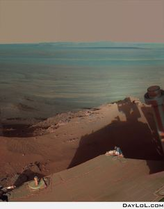 Photo shot by the Mars Rover