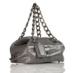 22,000.00 Chanel Charcoal Alligator Tote... From the Paris-New York Collection also known as PNY in the Chanel world. This exquisite charcoal grey alligator bag will be the holy grail of your Chanel collection.