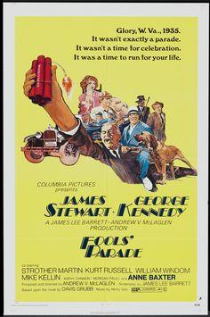 Fools' Parade (1971) Stars: James Stewart, George Kennedy, Anne Baxter, Strother Martin, Kurt Russell, William Windom, David Huddleston ~ Director: Andrew V. McLaglen