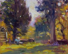Plein Air - unknown artist