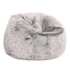 Grand Pouf Poire ICON classique - Pouf Poire Fausse Fourrure de luxe- Pouf Poire Designer LOUP ARCTIQUE: Amazon.fr: Cuisine & Maison