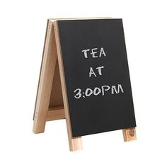 Mini 8 inch Tabletop Wooden Easel Blackboard Chalkboard Sign Display... (17 AUD) ❤ liked on Polyvore featuring home, home decor, office accessories, mini chalkboards, wooden signs, mini wooden easels, mini chalk boards and message board