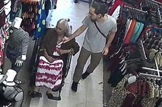 Shameless crook steals £450 pension cash from 94-year-old wheelchair-bound woman's bra while she shopped for clothes