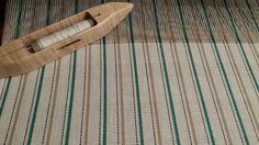 Linge à vaisselle tissé Dish Towels, Tea Towels, Weaving Projects, Weaving Techniques, Crochet, Spin, Loom, Arts And Crafts, Stripes
