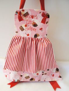 An Little Girl's apron I made for my granddaughter