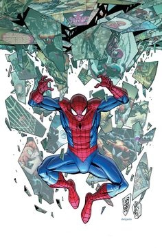 SUPERIOR SPIDER-MAN #31  Dan Slott (W) • Giuseppe Camuncoli (A/C)  Connecting Variants A & B by J. Scott Campbell  Variant cover by Kevin Maguire         Captain America Variant Also Available • SERIES FINALE! The end of an era! A tale of triumph and tragedy! The GREEN GOBLIN unmasked! A hero reborn! But what does this mean for OTTO OCTAVIUS?! • There's only one man who can save us from the Goblin Nation… PETER PARKER: The one, true SUPERIOR SPIDER-MAN!  64 PGS./Rated T $5.99