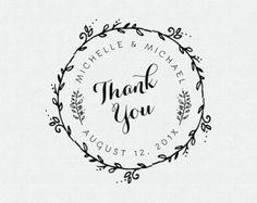 Custom Our Sweet Beginning Stamp Wedding Favor by FallForDesign