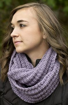 Sage Bloom Scarf - free crochet pattern by Kristen Stoltzfus for Cascade Yarns.