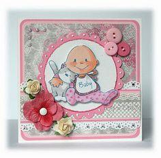 Baby Girl {Marianne Design}
