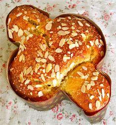 Colomba Pasquale (Sweet Italian Easter Dove Bread).