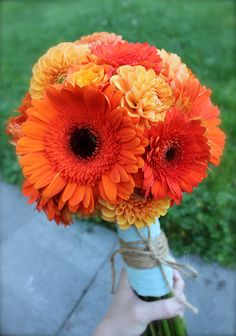 orange and teal coral and tiffany blue green reception wedding flowers,  wedding decor, wedding flower centerpiece, bouquet, wedding flower arrangement, add pic source on comment and we will update it. www.myfloweraffai... can create this beautiful wedding flower look.