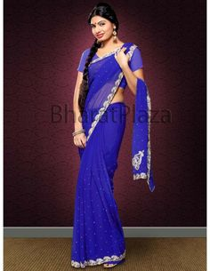 Refreshing Party Wear Saree