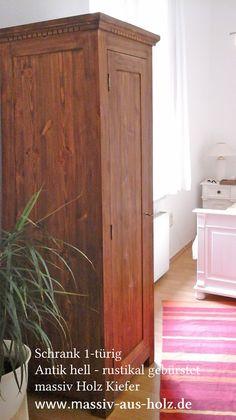 Vintage Kleiderschrank oder cm hoch Erle teilmassiv Modell Lido Kleiderschrank mit Farbe Pinterest Oder
