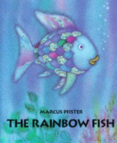 The Rainbow Fish is written and illustrated by Marcus Pfister and read by Ernest Borgnine. The Rainbow Fish is an award-winning book about a beautiful fish w. The Rainbow Fish, Rainbow Snacks, Best Children Books, Childrens Books, Young Children, Reading Adventure, Album Jeunesse, Beautiful Fish, Teaching Reading
